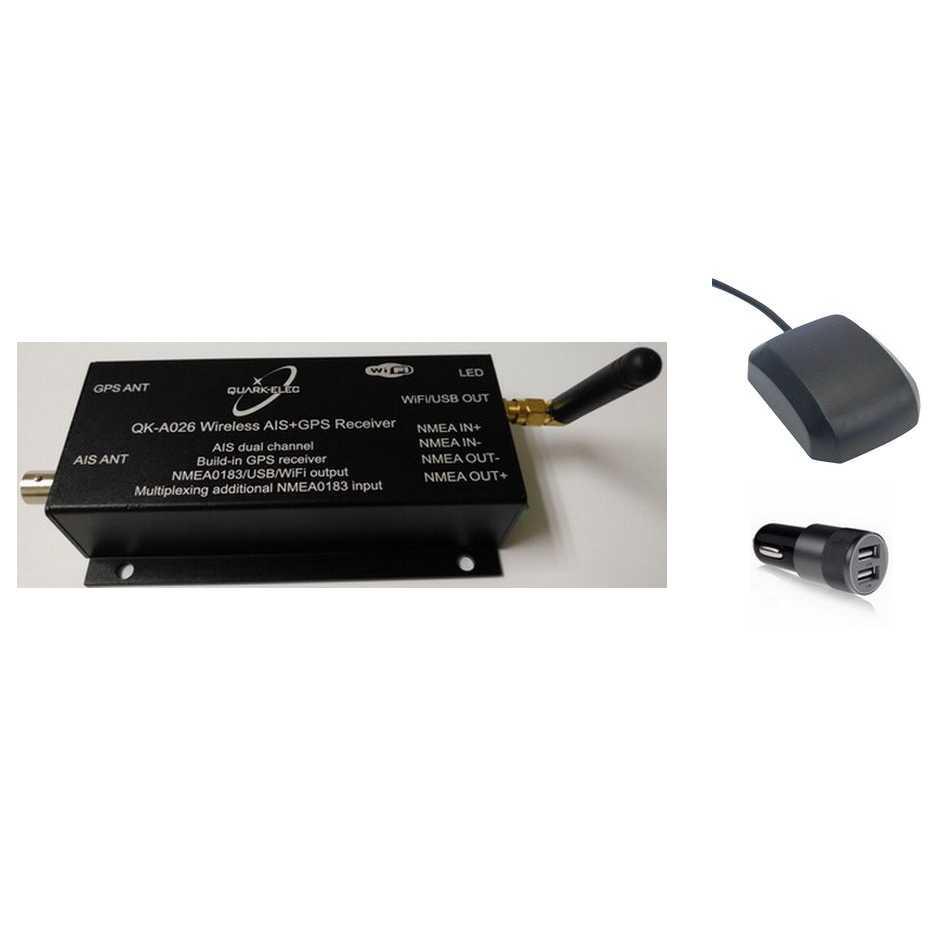 QK026+GPS Ant.+12V USB
