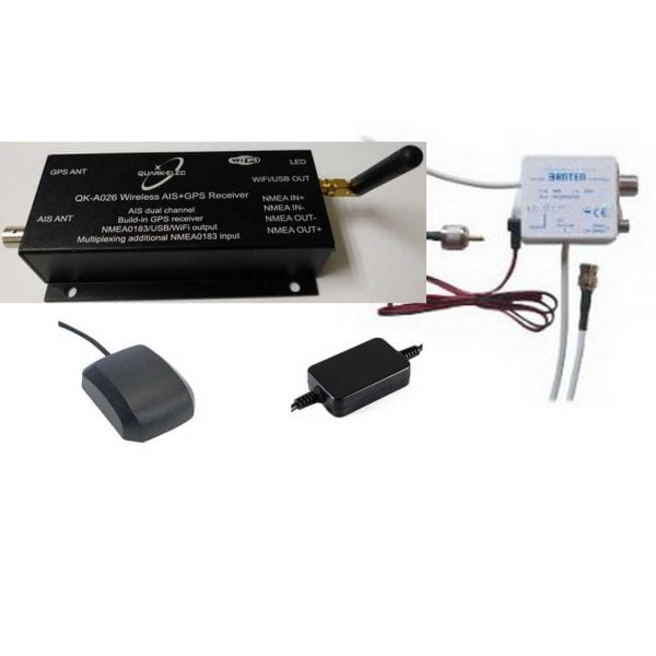 QK026+GPS Ant+SPL+12vPSU