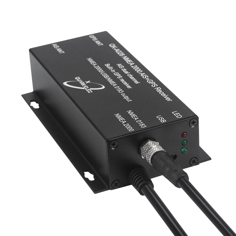 Quark QK-A028 NMEA 2000 AIS + GPS Receiver with NMEA0183 & USB