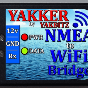 Yakker NMEA to WiFi