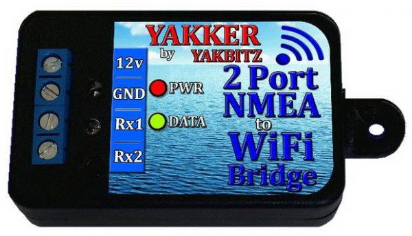 Yakker 2 port to WiFi